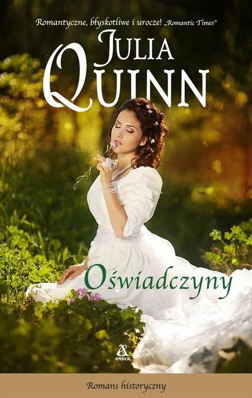 okładka Oświadczynyksiążka      Julia Quinn