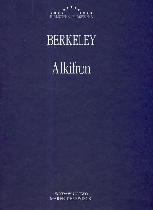 okładka Alkifron, Książka   Berkeley George