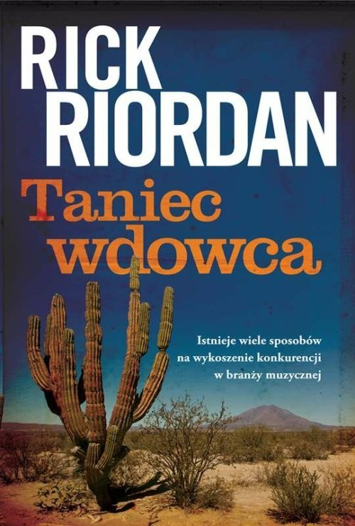 okładka Taniec wdowca, Książka   Rick Riordan