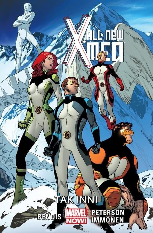 okładka All-New X-Men Tak inni Tom 4książka |  | Brian Michael Bendis