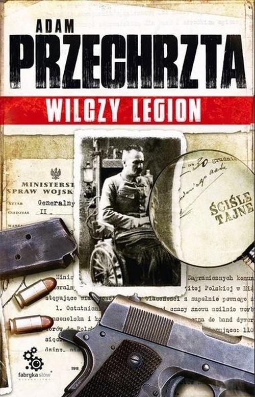 okładka Wilczy Legionksiążka      Adam  Przechrzta