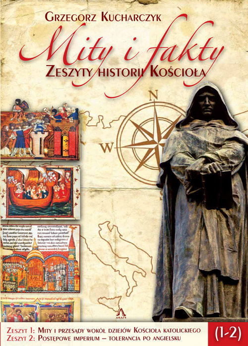 okładka Mity i fakty Zeszyty historii Kościoła 1-2książka      Grzegorz  Kucharczyk