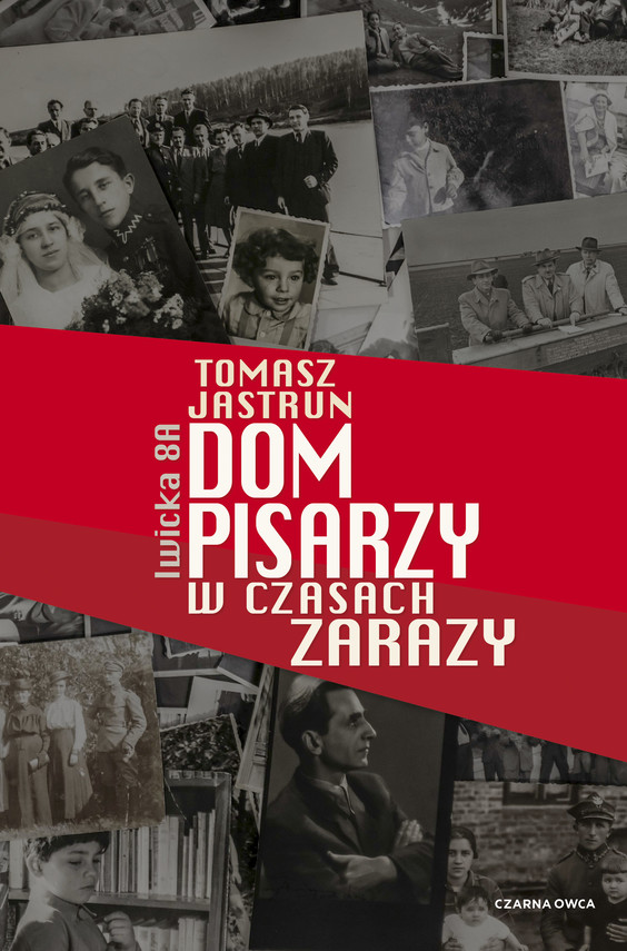 okładka Dom pisarzy w czasach zarazyebook | epub, mobi | Tomasz Jastrun