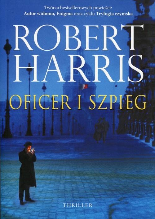 okładka Oficer i szpiegksiążka      Robert Harris