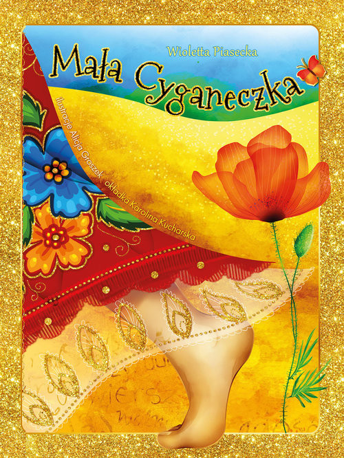 okładka Mała Cyganeczka, Książka | Piasecka Wioletta
