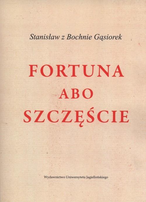 okładka Fortuna albo szczęścieksiążka |  | Gąsiorek Stanisław