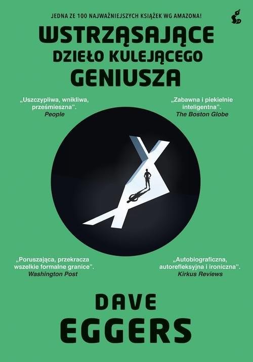 okładka Wstrząsające dzieło kulejącego geniuszaksiążka |  | Dave Eggers