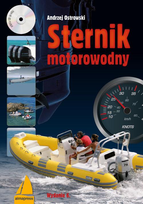 okładka Sternik motorowodny + CD, Książka | Andrzej Ostrowski