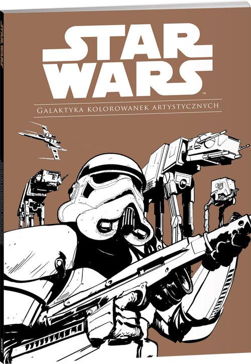 okładka Star Wars Galaktyka kolorowanek artystycznych GAL-1książka |  | Opracowanie zbiorowe