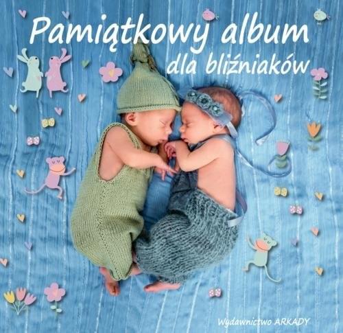 okładka Pamiątkowy album dla bliźniaków, Książka | Praca Zbiorowa