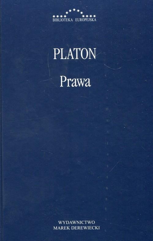 okładka Prawa Platon, Książka   Platon