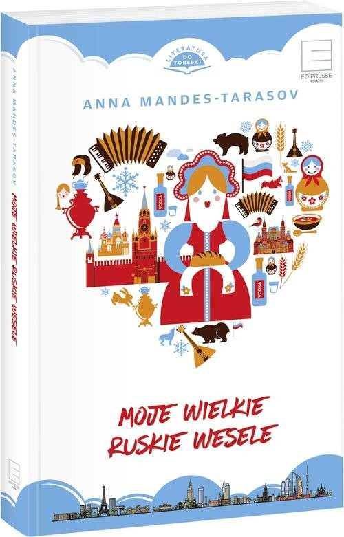 okładka Moje wielkie ruskie weseleksiążka |  | Mandes-Tarasov Anna