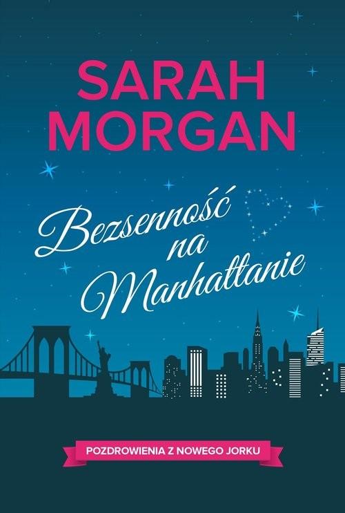 okładka Bezsenność na Manhattanie, Książka | Sarah Morgan