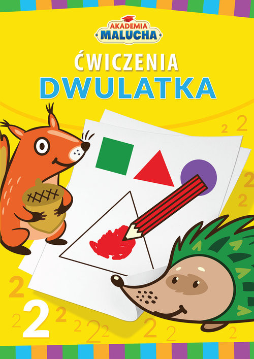 okładka Akademia malucha Ćwiczenia dwulatka, Książka | Praca Zbiorowa
