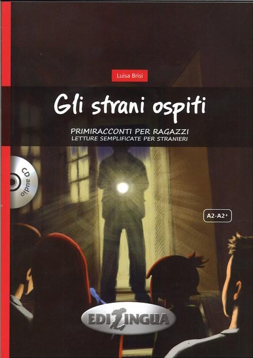 okładka Gli strani ospiti + CDksiążka      Brisi Luisa