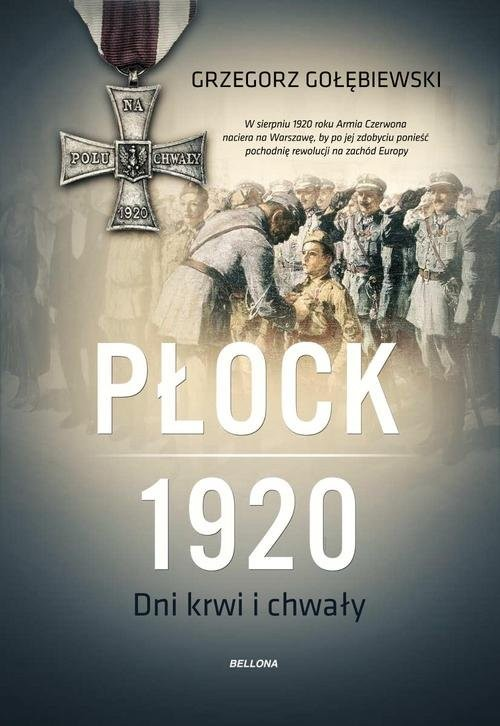 okładka Płock 1920, Książka   Gołębiewski Grzegorz