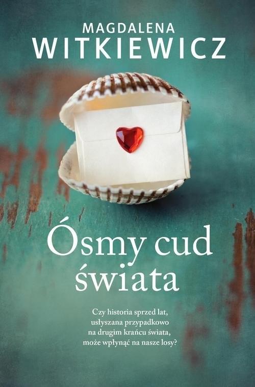 okładka Ósmy cud świata, Książka | Magdalena Witkiewicz