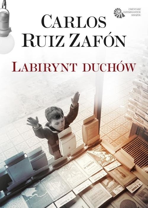 okładka Labirynt duchów, Książka | Carlos Ruiz Zafón