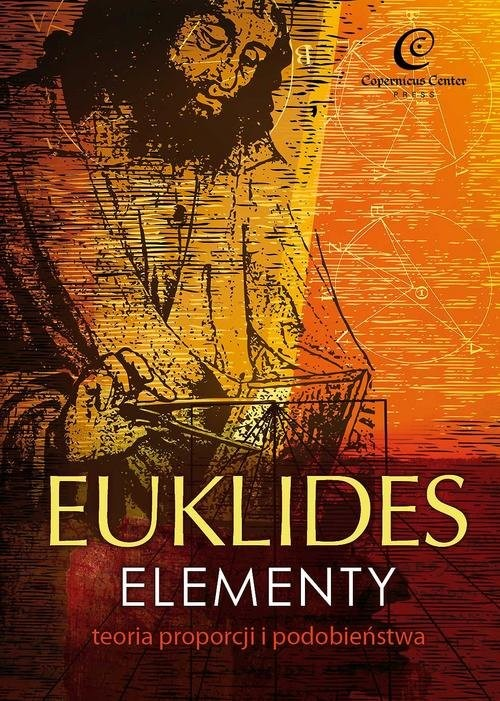 okładka Euklides Elementy Teoria proporcji i podobieństwa, Książka |