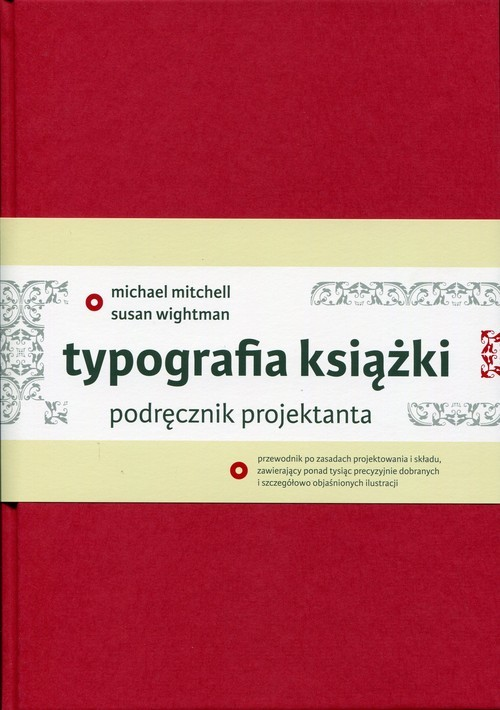 okładka Typografia książki Podręcznik projektanta, Książka | Michael Mitchell, Susan Wightman