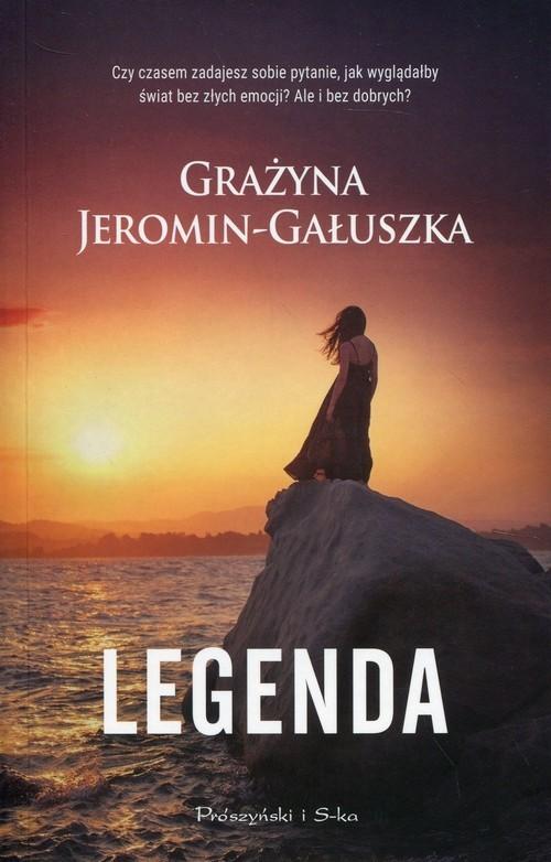 okładka Legenda, Książka   Grażyna Jeromin-Gałuszka