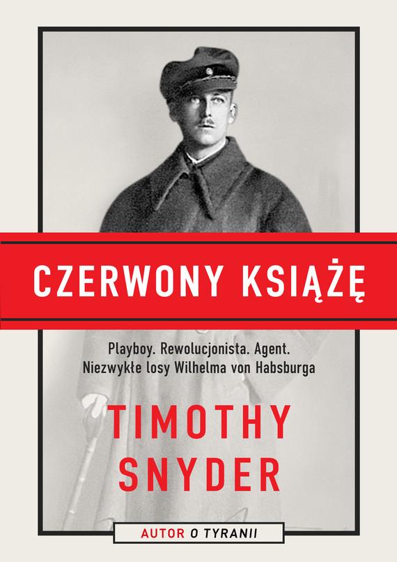 okładka Czerwony książęebook | epub, mobi | Timothy Snyder