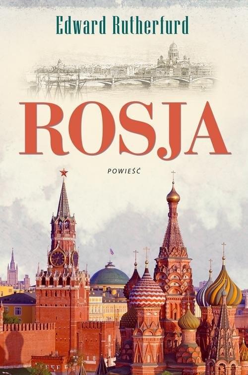 okładka Rosja, Książka | Edward Rutherfurd
