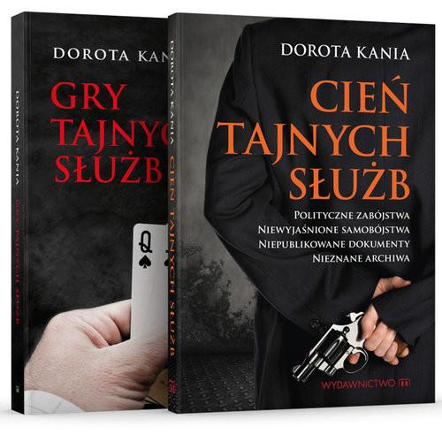 okładka Cień tajnych służb / Gry tajnych służb Pakietksiążka      Dorota Kania