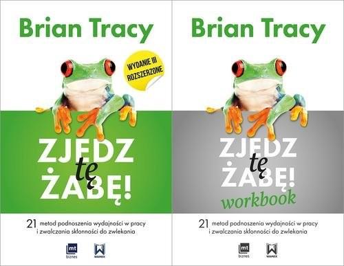 okładka Zjedz tę żabę / Zjedz tę żabę Workbook Pakietksiążka      Brian Tracy