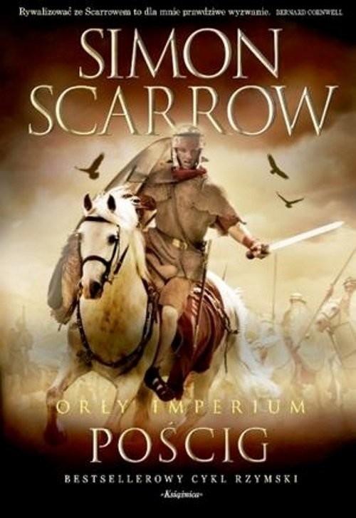 okładka Orły imperium 5 Pościg, Książka | Simon Scarrow