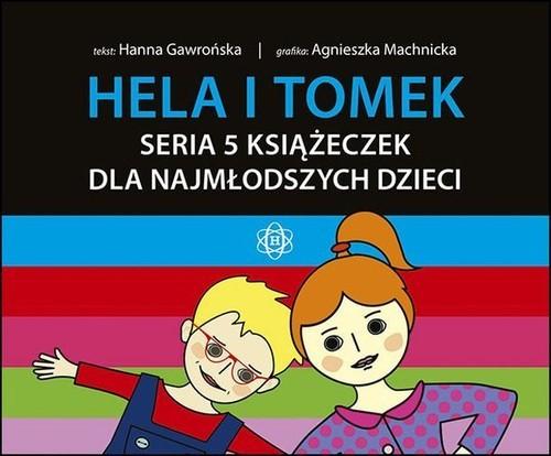 okładka Hela i Tomek Seria 5 książeczek dla najmłodszych dzieci, Książka   Gawrońska Hanna