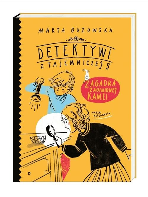 okładka Zagadka zaginionej kameiksiążka |  | Marta Guzowska