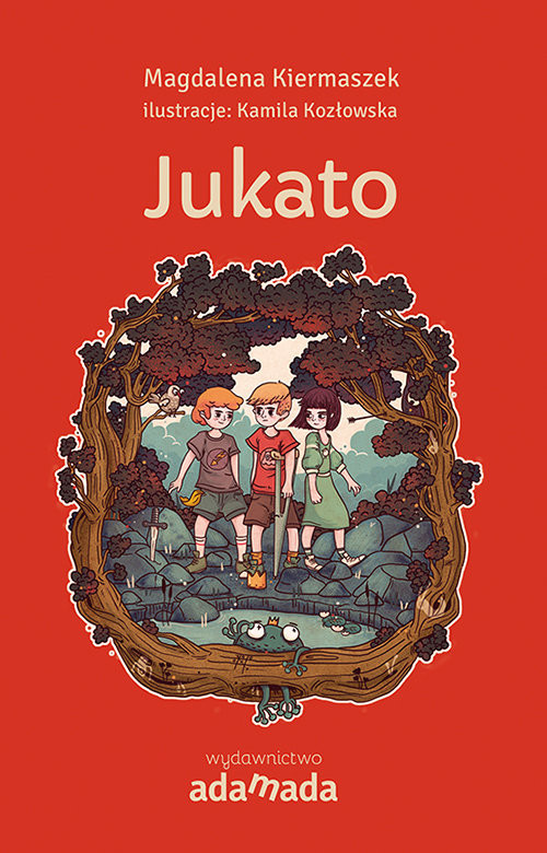okładka Jukato, Książka   Magdalena Kiermaszek
