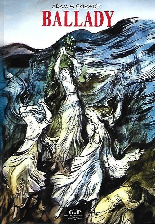 okładka Ballady, Książka | Adam Mickiewicz