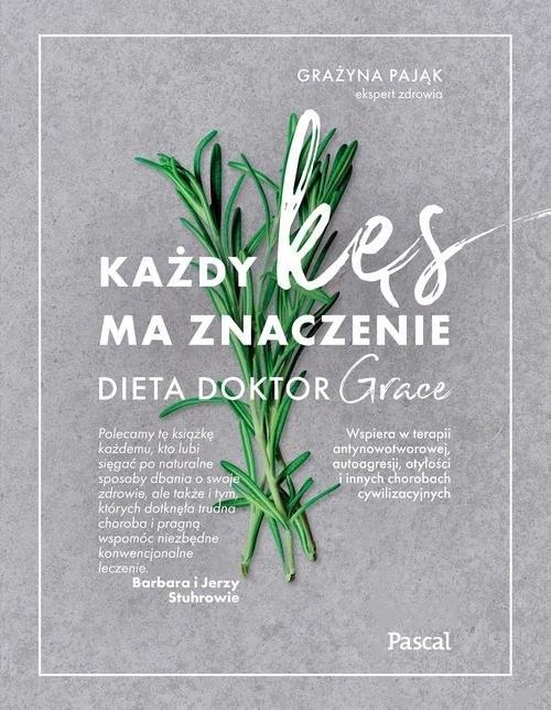 okładka Każdy kęs ma znaczenie Dieta doktor Graceksiążka      Dr Grażyna Pająk (drGRACE)