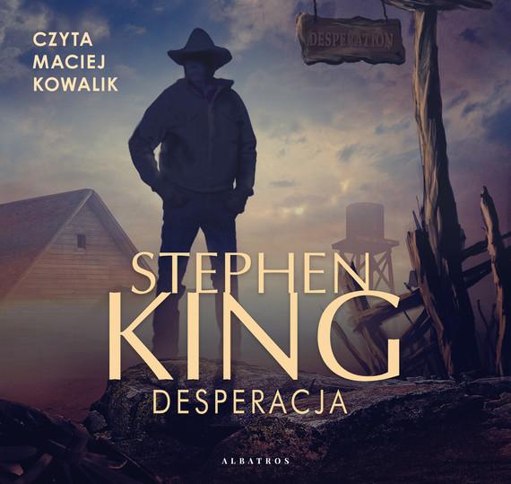 okładka DESPERACJAaudiobook | MP3 | Stephen King
