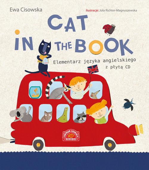 okładka Cat in the Book Elementarz języka angielskiego z płytą CD, Książka | Cisowska Ewa