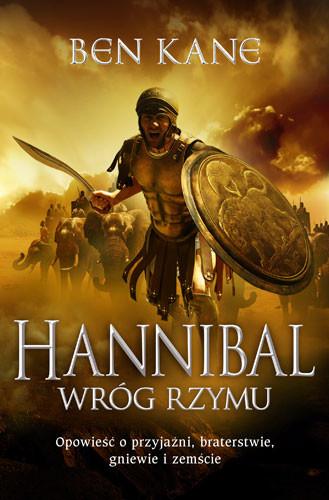 okładka Hannibal. Wróg Rzymu, Książka | Ben Kane