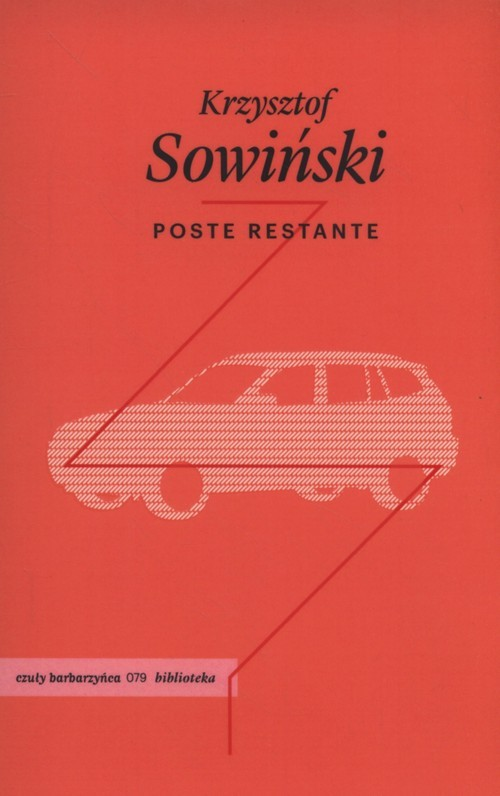 okładka Poste restante, Książka | Sowiński Krzysztof