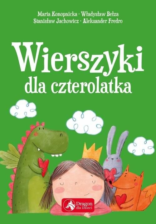 okładka Wierszyki dla czterolatkaksiążka |  | Maria Konopnicka, Władysław Bełza, Stanisław Jachowicz