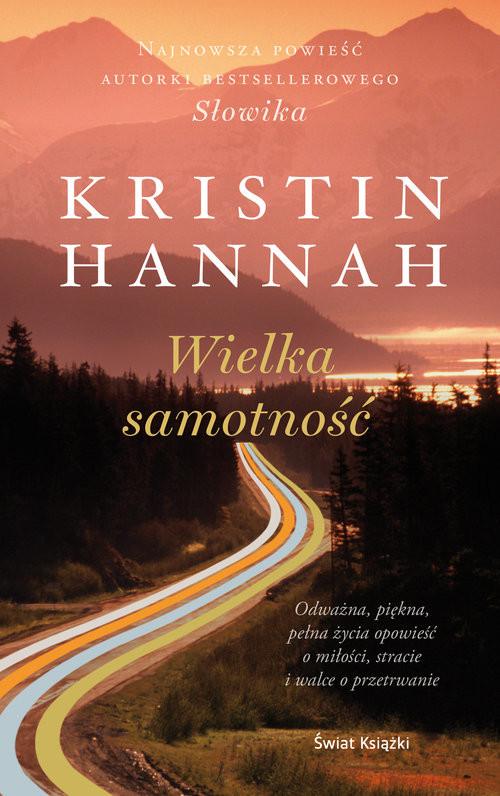 okładka Wielka samotność, Książka   Hannah Kristin