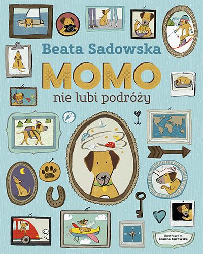 okładka Momo nie lubi podróżyksiążka |  | Beata Sadowska
