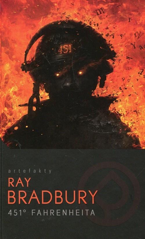 okładka 451 stopni Fahrenheitaksiążka      Bradbury Ray