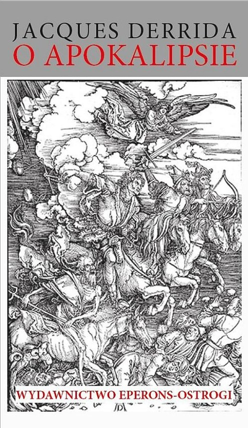 okładka O apokalipsieksiążka |  | Jacques Derrida