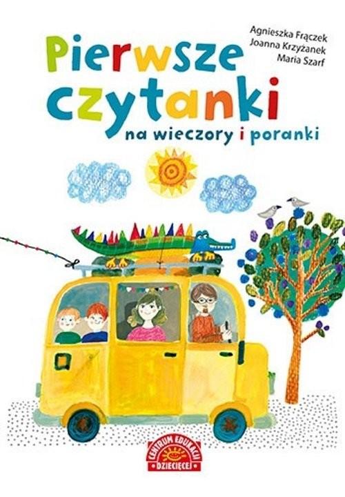 okładka Pierwsze czytanki na wieczory i porankiksiążka |  | Agnieszka Frączek, Joanna  Krzyżanek, Maria Szarf