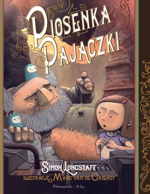 okładka Piosenka Pajączki, Książka | Longstaff Simon