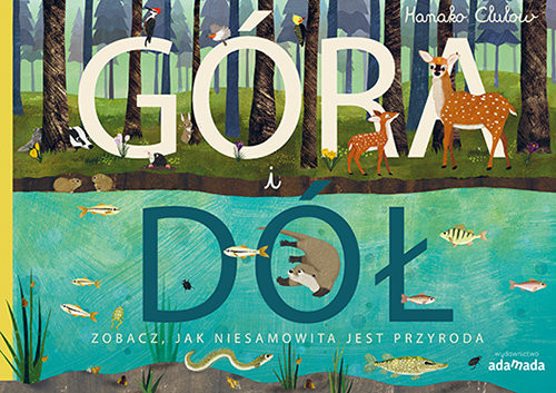 okładka Góra i dół Zobacz, jak niesamowita jest przyroda, Książka | Patricia Hegarty, Tanera Simons