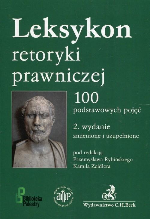 okładka Leksykon retoryki prawniczej 100 podstawowych pojęćksiążka |  |