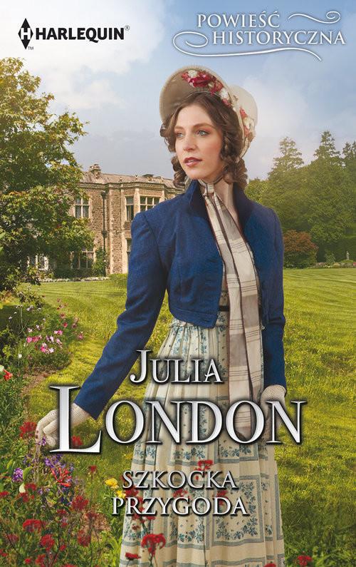 okładka Szkocka przygoda Powieść Historycznaksiążka      Julia London