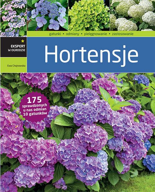 okładka Hortensje, Książka | Chojnowska Ewa
